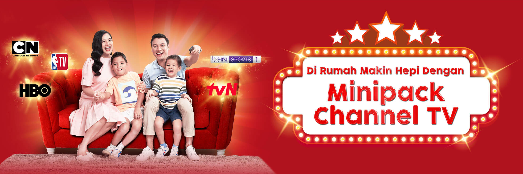 IndiHome Minipack Channel TV