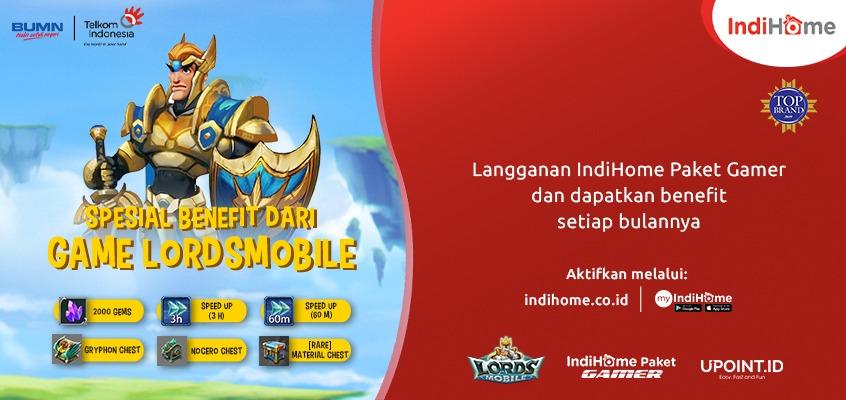 IndiHome Banner LordsMobile