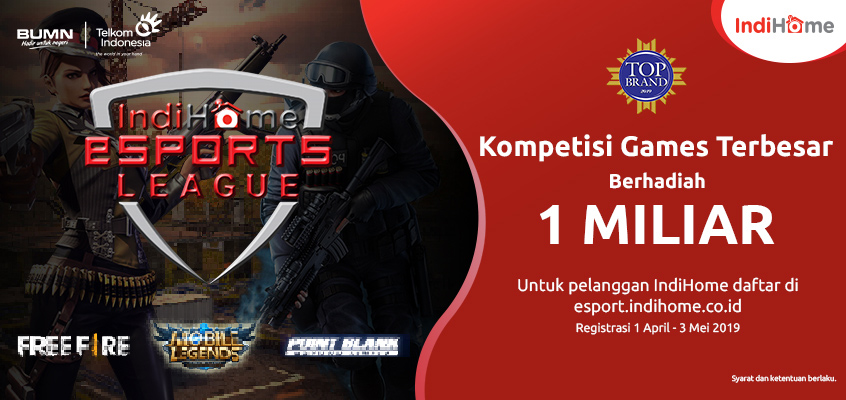 IndiHome Banner eSport