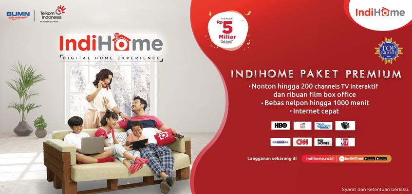 Banner IndiHome Paket Premium