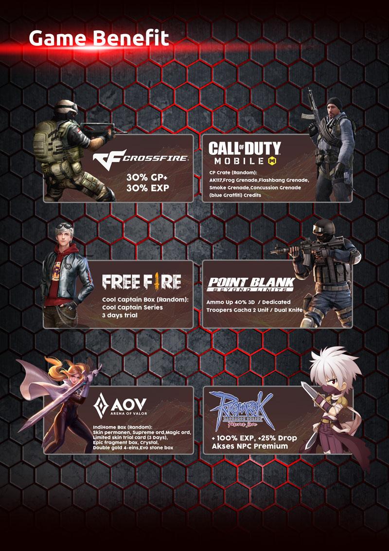 benefit paket gamer